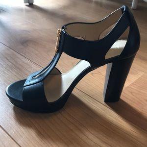 Michael Kors Berkley T-Strap Platform Sandals
